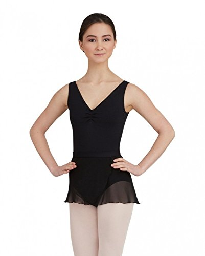 Capezio Women's Wrap Skirt - TC0012 (Petite / Small, (Capezio Womens Skirt)