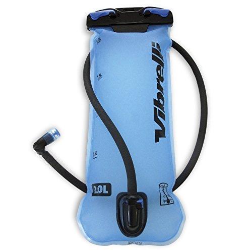 Vibrelli Performance Hydration Bladder 2L - Anti-Microbial Technology & High-Flow Bite Valve by Vibrelli