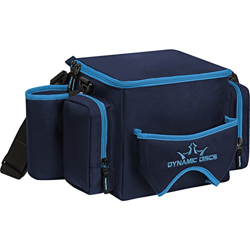 Dynamic Discs Soldier Cooler Disc Golf Bag - Insulated Cooler Compartment - Adjustable Shoulder Strap - 2 Drink Holders & Pockets