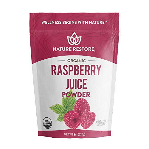 Nature Restore Organic Red Raspberry Juice Powder, Non-GMO (8 ounces)   ()
