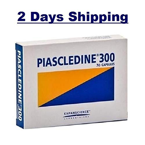 Piascledine 300 mg 30 Caps Original Anti-Rheumatic Osteoarthritis Joints 2-3 Shipping Days exp 8-2020 -