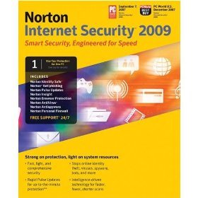 Norton Internet Security 2009 - Good ASIN B001E0RZ3U