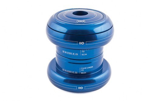 Cane Creek 110-Series External Cup Complete for 34mm Head-Tube (1-1/8-Inch Stem Clamp Diameter), Blue by Cane Creek