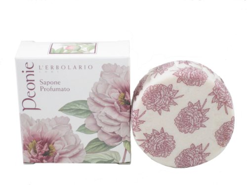 Peonie (Peony) Perfumed Soap Bar by L'Erbolario - Flat Time Shipping Priority Rate