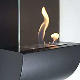 Nu-Flame Torcia Wall Mounted Ethanol Ventless Fireplace