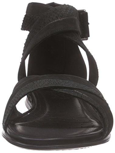 Sandales Noir Black51707 Black Cheville Sandal Schwarz Bride Femme Touch Ecco qvEAgSET