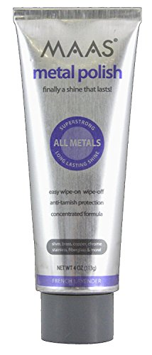 Maas International Metal Polish, 4-Ounce