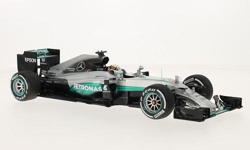 Mercedes AMG W07 hybrid, No.44, AMG Petronas Formula One team, Petronas, formula 1, GP Australia, 2016, Model Car,, Minichamps 1:18 -