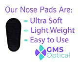 GMS Optical Soft Foam Self-Adhesive Nose Pads for