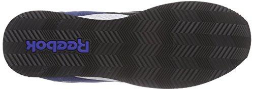 Reebok Royal CL Jog 2RS Zapatillas de running, Niños Azul / Blanco / Rojo (Midnight Blue/White/Black/Motor Red/Tin)