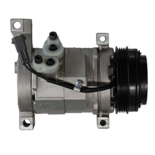 New Air Condition A/C Compressor and AC Clutch 1051355-19130450 for Chevys Chevrolet GMC Cadillac and Hummer H2 H3 ()