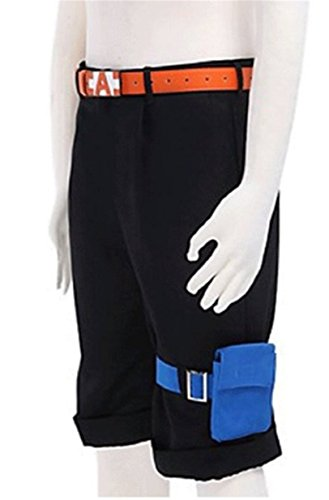 Vicwin-One One Piece Portgas·D· Ace Shorts Cosplay Costume