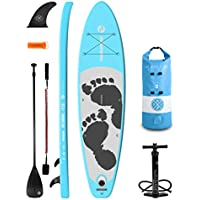 """Two Bare Feet Entradia 10'10"""" / 11'6"""" / 4""""&6"""" Thick Inflatable Paddleboards SUP Starter Pack"""
