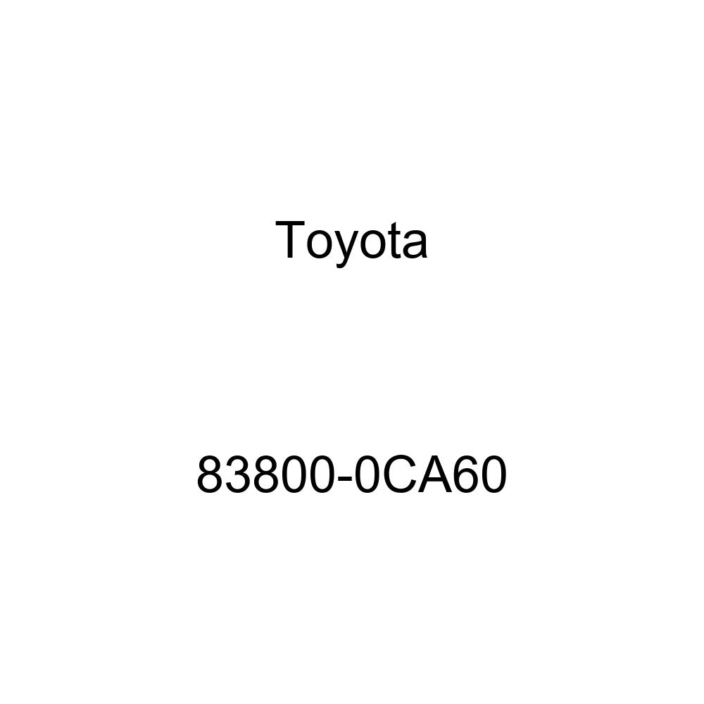 Toyota Genuine 83800-0CA60 Combination Meter Assembly