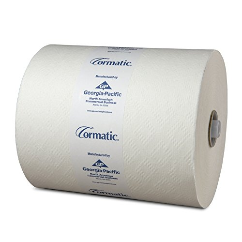 Georgia Pacific 2930P Cormatic Hardwound Paper Towels, 8.25