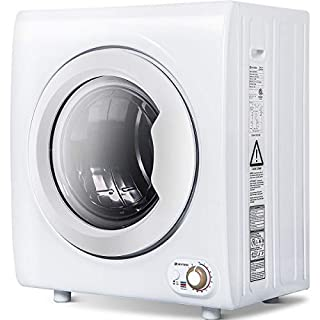 Sentern 2.65 Cu.Ft Compact Laundry Dryer - 9 LBS Capacity Portable Clothes Dryer with 1400W Drying Power (9 LBS)