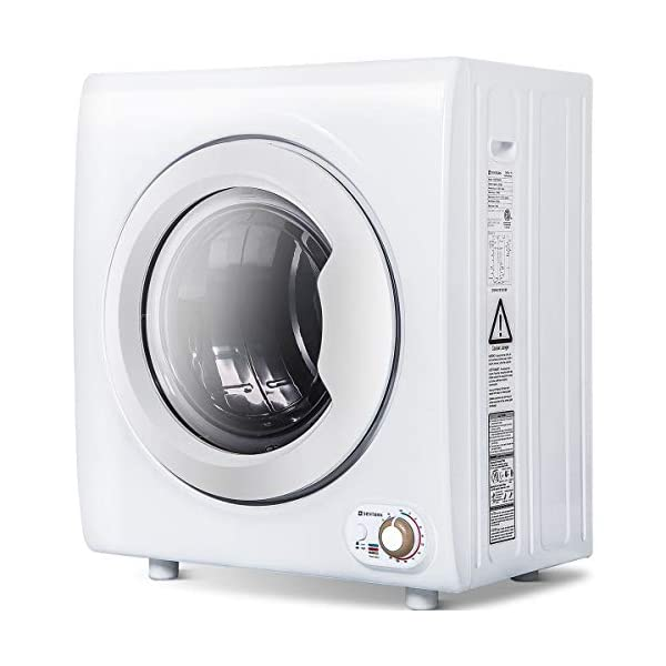 Sentern 2.65 Cu.Ft Compact Laundry Dryer – 8.8 LBS Capacity Portable Clothes...