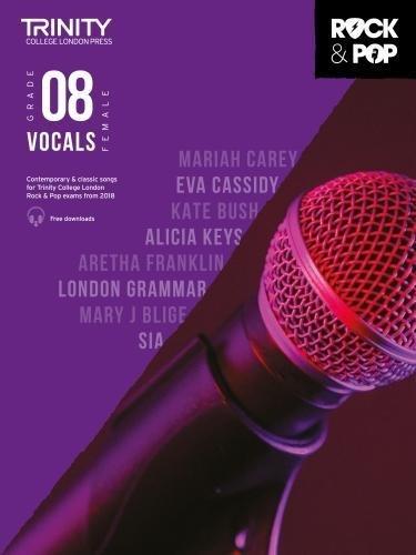 Trinity Rock & Pop 2018 Vocals Grade 8 (Female Voice) ebook