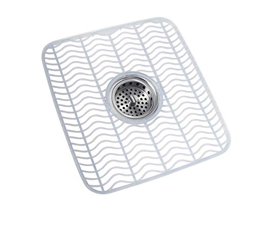 (Rubbermaid Sink Mat, Medium, Clear FG129506CLR)