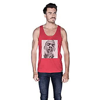 Creo Jay Z Tank Top For Men - M, Pink