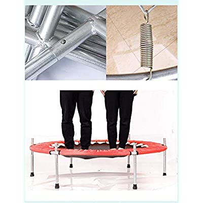 MAOWAO Trampoline for Kids, Trampoline with Safety Pad Enclosure Net, Outdoor Indoor Mini Trampolines for Kids (Blue) : Sports & Outdoors