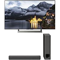 Sony XBR-55X900E 55 4K Ultra HD LED Smart TV and HT-MT300 2.1 Channel Compact Soundbar with Wireless Subwoofer (Charcoal Black)