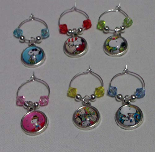 Buy snoopy glasses set of 4