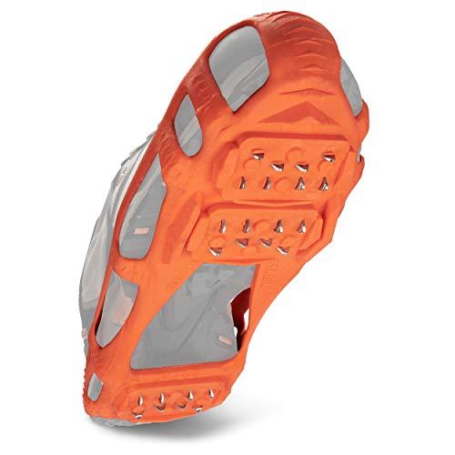 STABILicers Walk Traction Ice Cleat, Medium (7.5-10 Men / 8.5-12 Women), Black
