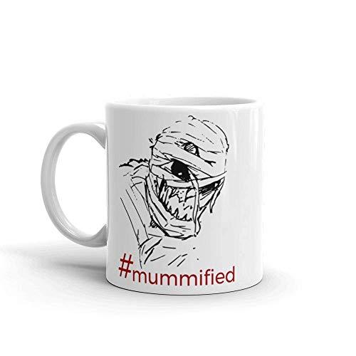 Hashtag Mummified Scary Mummy Halloween Coffee Mug Gift -