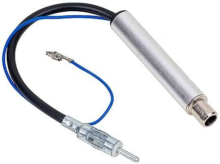 Audioproject A227 ISO Autoradio Phantomeinspeisung kompatibel zu VW Audi Skoda Opel Mercedes Peugeot Renault Seat Antenne Adapter Phantom Antennenadapter Fakra