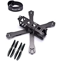 Readytosky ZMR220-RX H210 H220 FPV Racing Drone Frame Carbon Fiber Quadcopter Frame gift( w/ props and battery strap)