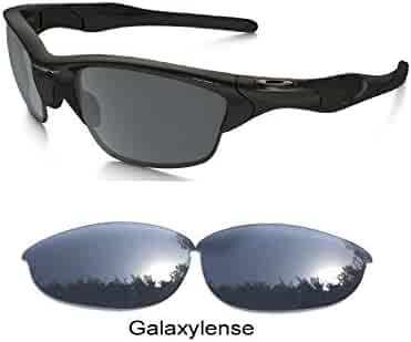 1aebdc3182 Galaxy Replacement Lenses For Oakley Half Jacket Polarized Black 100% UVAB