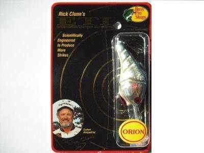 (RICK CLUNN'S ORION E.T.I Enhanced Target Imaging TITANIUM BLUE SHAD #10 Crankbait FISHING LURE )