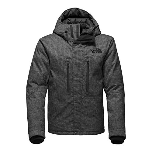 The North Face Himalayan Lifestyle Parka TNF Black Tweed Men's Coat