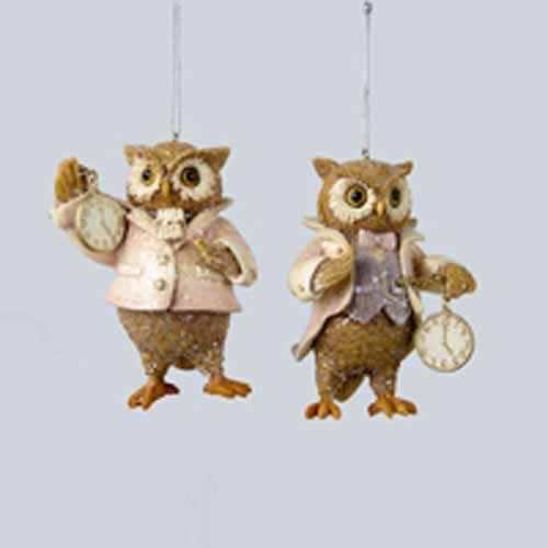 4 inch Owl time keepers