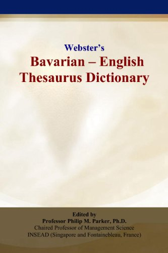 Webster's Bavarian - English Thesaurus Dictionary