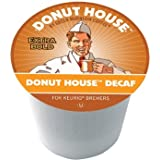 Green Mountain Donut House DECAF 4 Boxes of 24 K-Cups