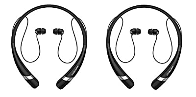 Bluetooth Headphones COULAX CX04 Bluetooth Neckband Headset Wireless Sweatproof In-Ear Sports Running Earbuds-Built in Mic with Noise Cancellation for iPhone 6s Samsung S7 and Android Phone