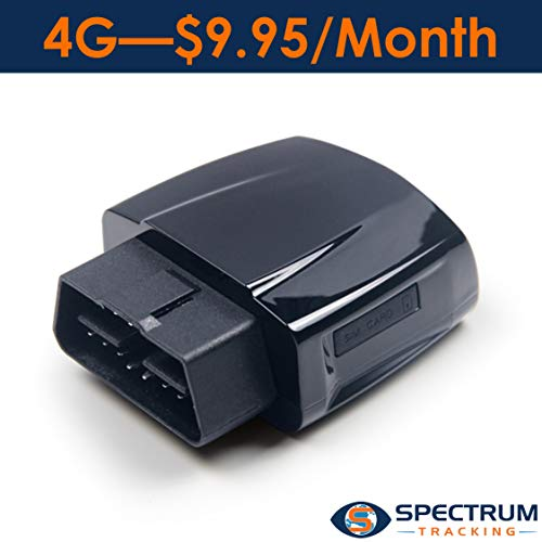 Spectrum Smart 4G - $9.95/Month - Location Tracking, Driving Habits, Alerts, Geo-Fence, Diagnostics - for Teens, Seniors, and Fleet - 14 Day Free Trial