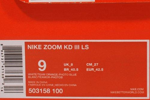 Nike Zoom Kd Iii Ls Marquant Le Titre De La Maison (503158-100)