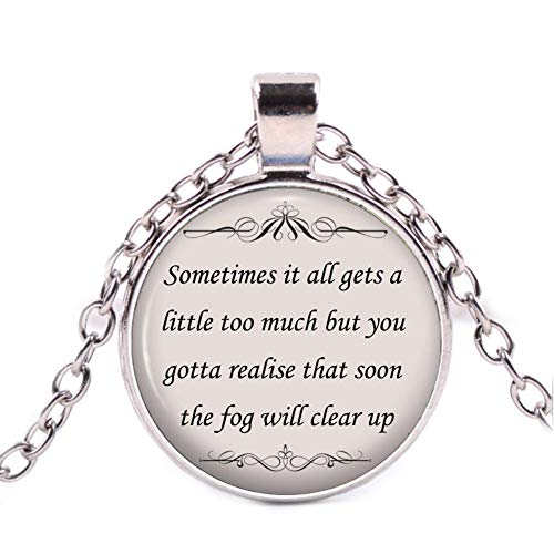 Shawn Mendes Song Lyric Quote Necklace - A Little to Much Inspirational Jewelry]()