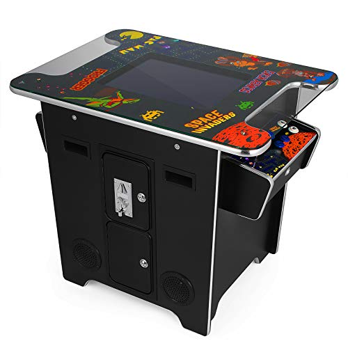 VEVOR Cocktail Arcade Game Machine with 60 Games 19 Inch Screen Classic Arcade Game Cabinet Home Commercial Settable Cocktail Table Retro Game by VEVOR (Image #5)