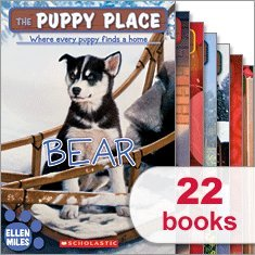 The Puppy Place Complete 22 Volume Value Set Includes Goldie, Snowball, Shadow, Rascal, Buddy, Flash, Scout, Patches, Pugsley, Maggie and Max, Noodle, Princess, Cody, Honey, Bear, Lucky, Jack, Sweetie, Chewy and Chica, Baxter, Muttley, and Ziggy (The Puppy Place) (The Puppy Place Lucky)