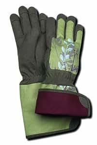 Magid Glove TE296T-M Terra Collection Rose Gloves-Women's Medium