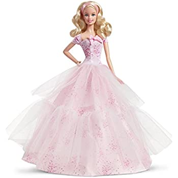 Well Wreapped Barbie 2015 Birthday Wishes Latina Doll
