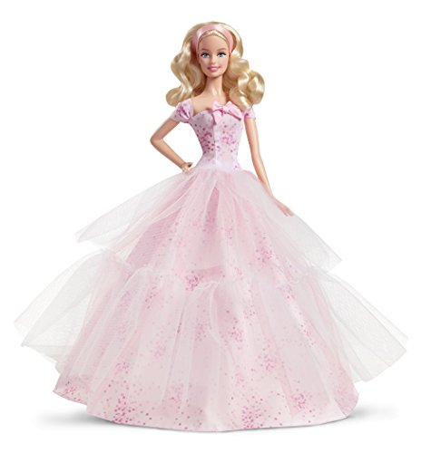 Barbie Birthday Wishes 2016 Doll Blonde