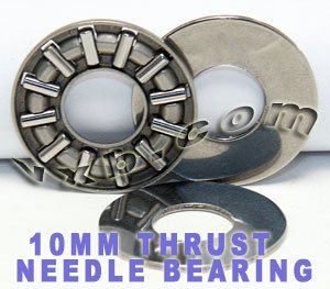 Thrust Needle Roller Bearing 10x24x4 Thrust Bearings