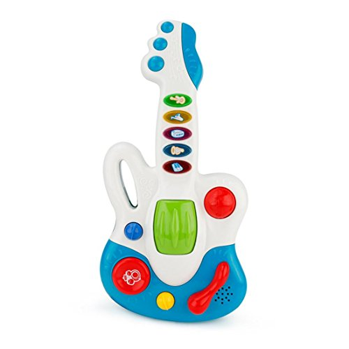Geology Rocks Play Costumes (HANYI Baby Kid Musical Toys, Electric Guitar Ukulele Musical Instruments with Sound and Lights Development Educational Christmas Toy Gift (Blue))
