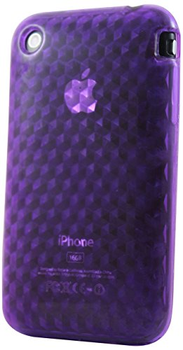 Katinkas KATIP31088 Soft Cover für Apple iPhone 3G/3GS HEX 3D lila