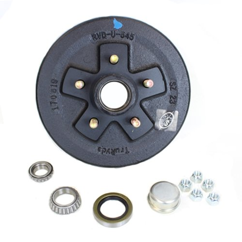 Southwest Wheel 5-Hole, 5'' Bolt Circle Brake Drum for 3,500 lb. Axles by Southwest Wheel